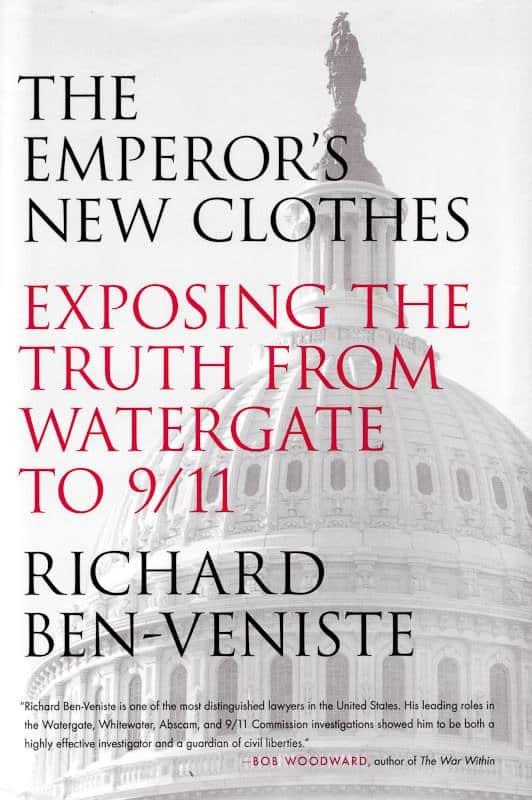 Cover of Richard Ben-Veniste's memoir, The Emperor's New Clothes