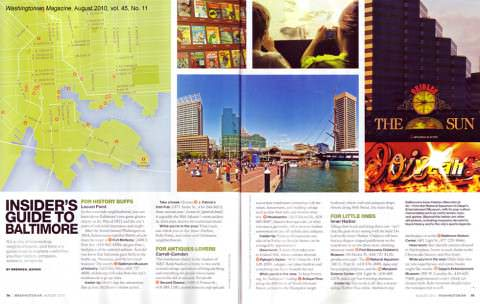 Washingtonian Magazine August 2010 - Insider's Guide to Baltimore