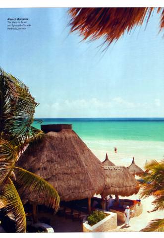 BA Highlife Magazine - Yucatan issue - August 2010