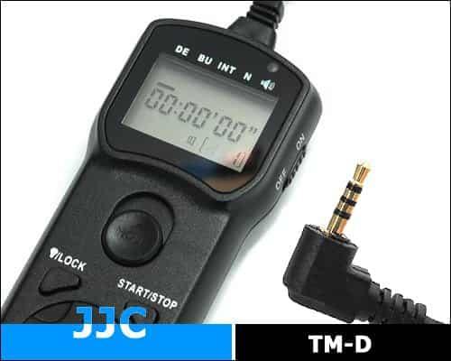 JJC TM-D Multi-Function Timer Remote Control