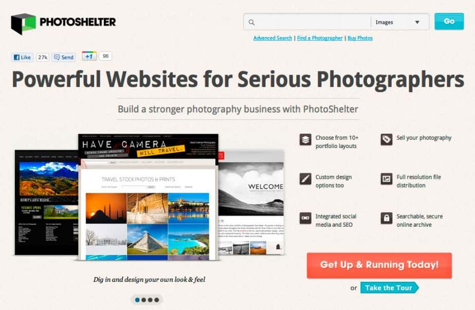 photoshelter21 924x603 Photoshelter Website Home Page