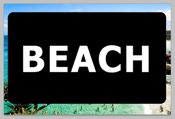 Transparent Text in Photoshop
