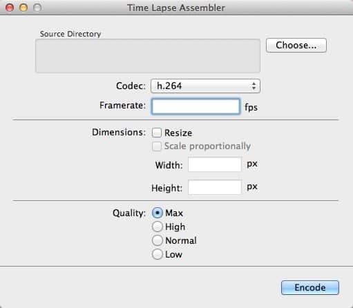 Time-Lapse-Assembler-Program