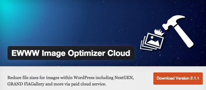 EWWW Image Optimizer Cloud for Wordpress
