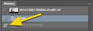 Removing Dust & Scratches with Photoshop