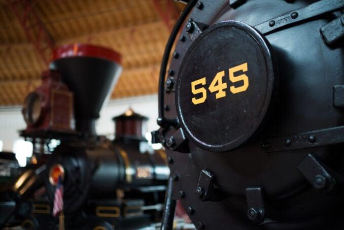 B&O Railroad Museum Baltimore Steam Train