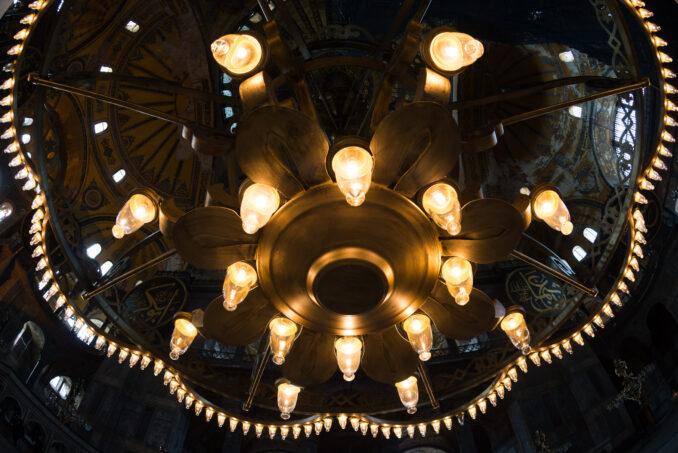 Hagia Sophia Chandelier Lights