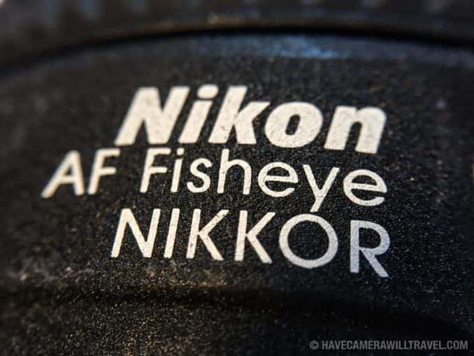 Nikon 16mm Fisheye Lens
