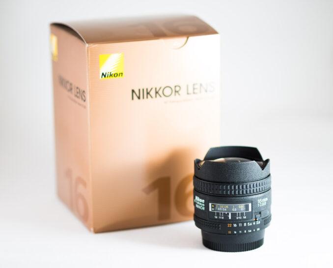 Nikon 16mm f2.8 Fisheye Lens