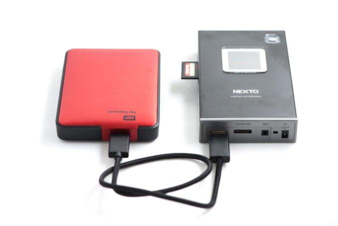 NEXTODI ND2901 Memory Card Reader and Backup