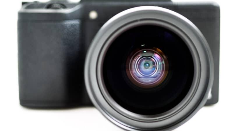 Ricoh GW-3 0.75x Wide Conversion Lens on a Ricoh GR II
