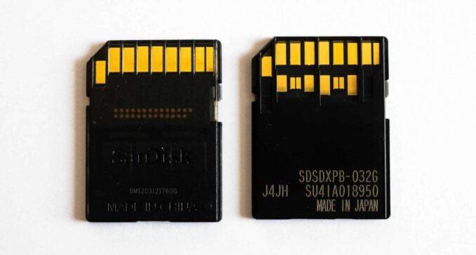 SD Cards - UHS-I vs UHS-II