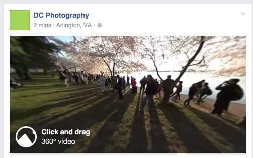 Facebook 360 dergee video upload - 5