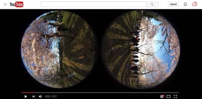 Ricoh Theta S YouTube Stereoscopic