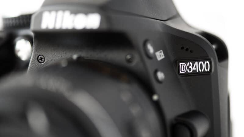 Nikon D3400 DSLR Front