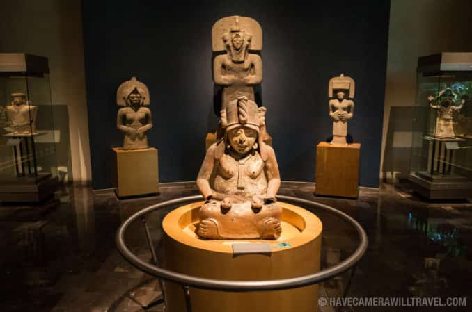 Huehuetéotl (God of Fire) National Museum of Anthropology, Mexico City