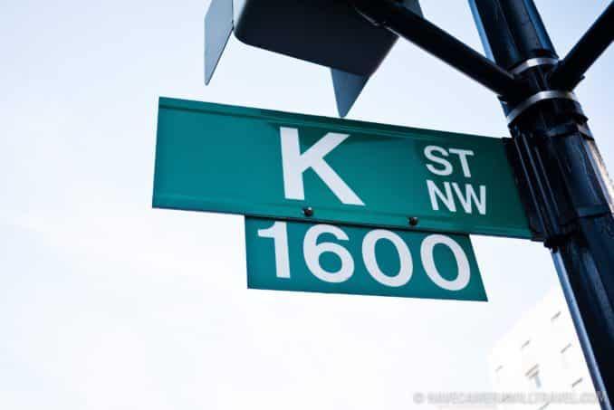 K Street NW - Washington Lobbyist Central