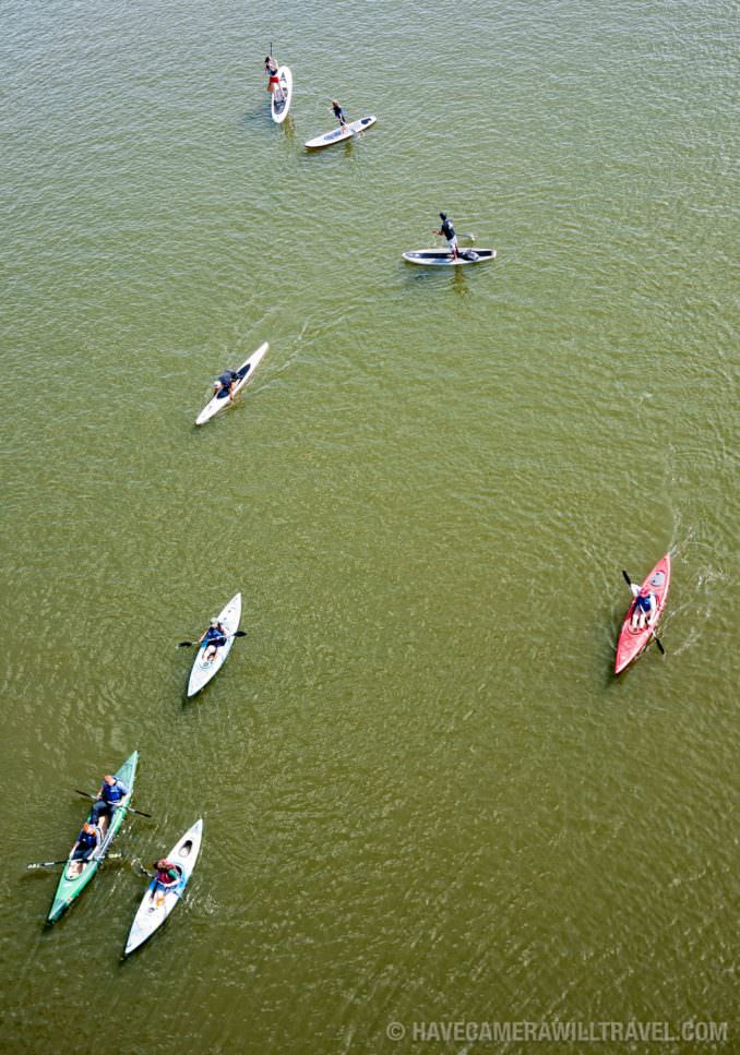 Kayaking on the Potomac
