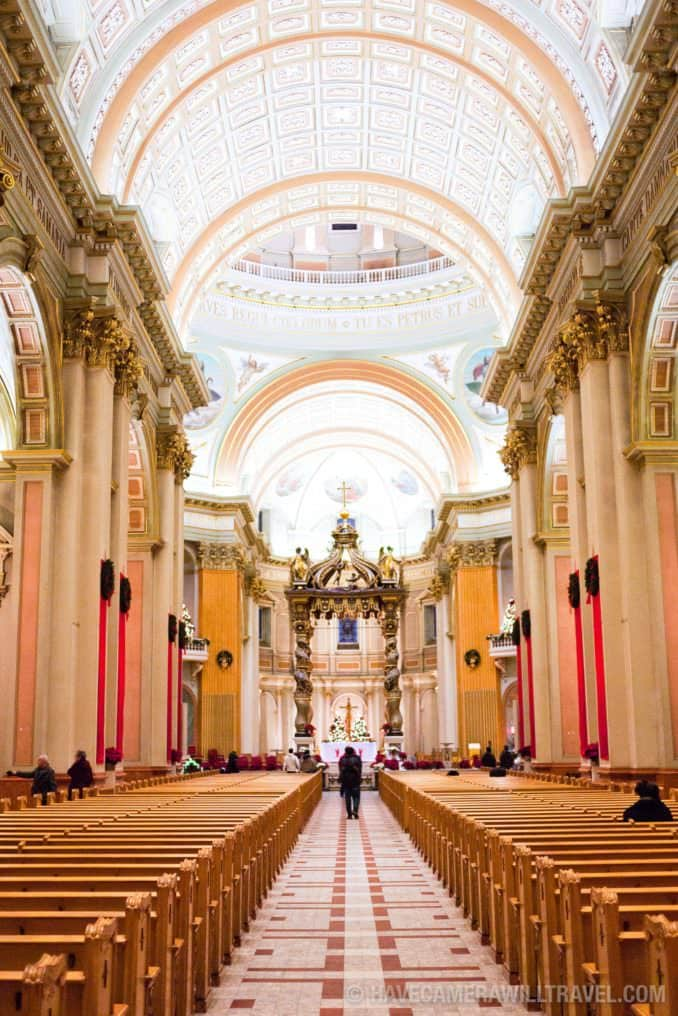 Mary Queen of the World Cathedral interior