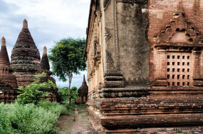 Pagodas in Bagan, Myanmar (Burma)