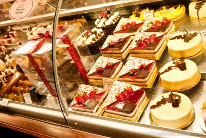 Pastries and Cakes at Premiere Moison in Montreal