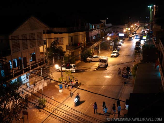 Photo of Vientiane Street at Night (Viang Chan)