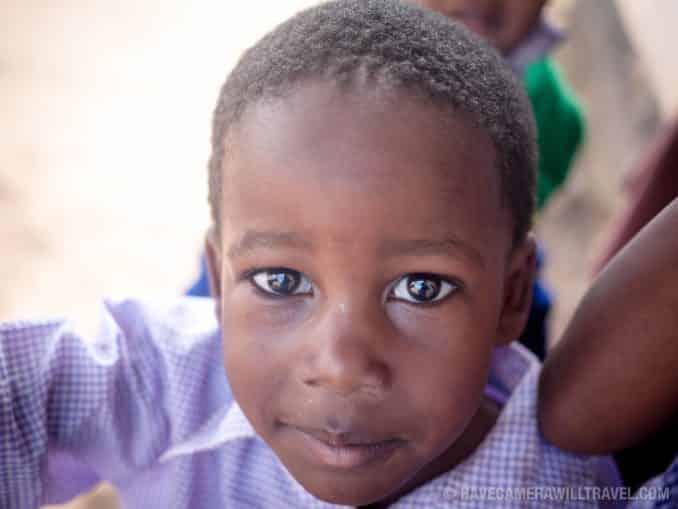 Tanzanian Orphan Boy