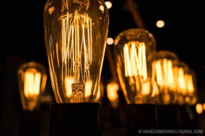 Vintage Electric Light Bulbs