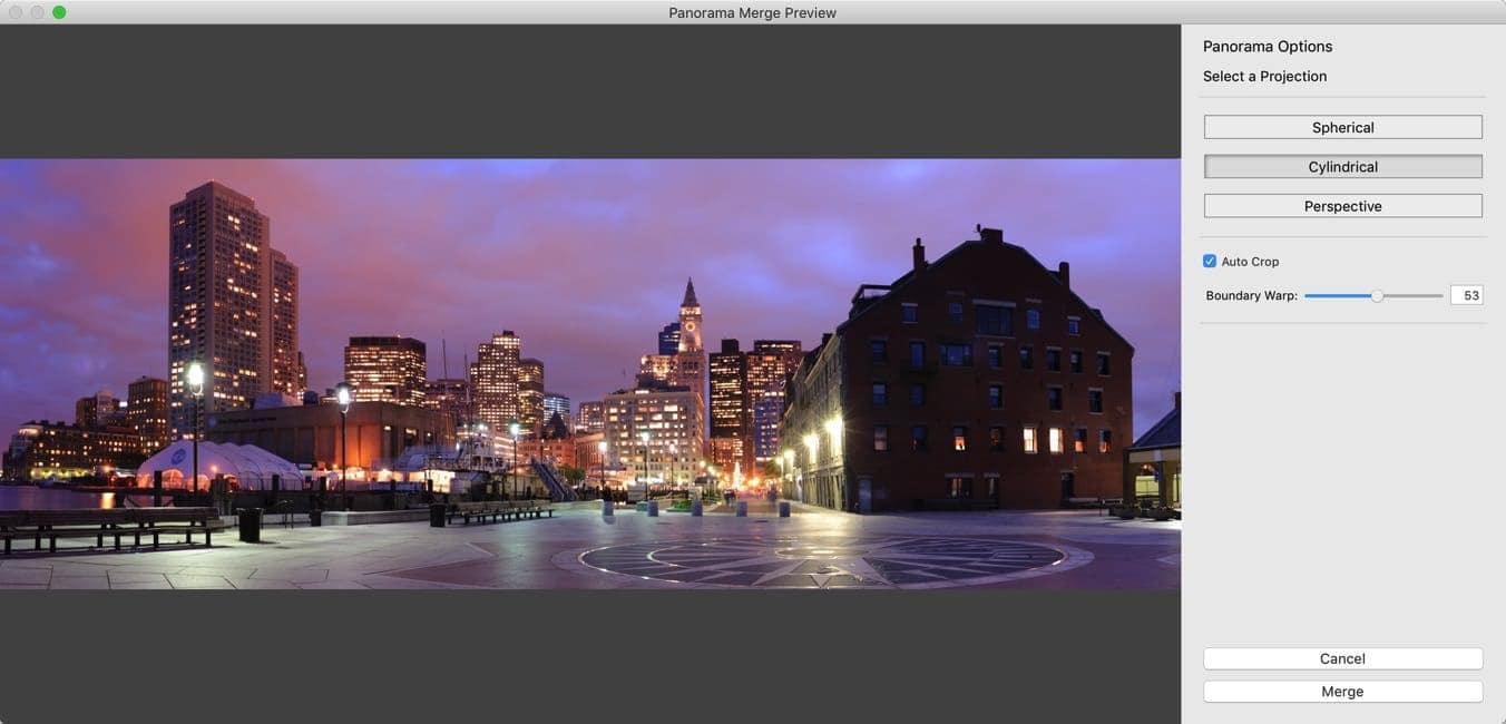 Lightroom Panorama  3