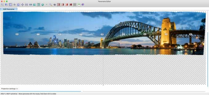 PTGUI Pro panorama stitching software