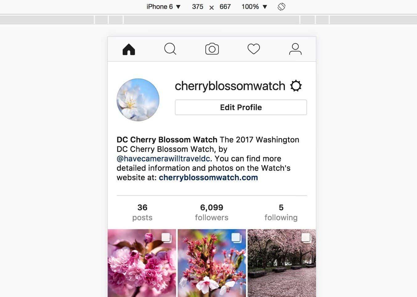 Instagram User Agent Upload