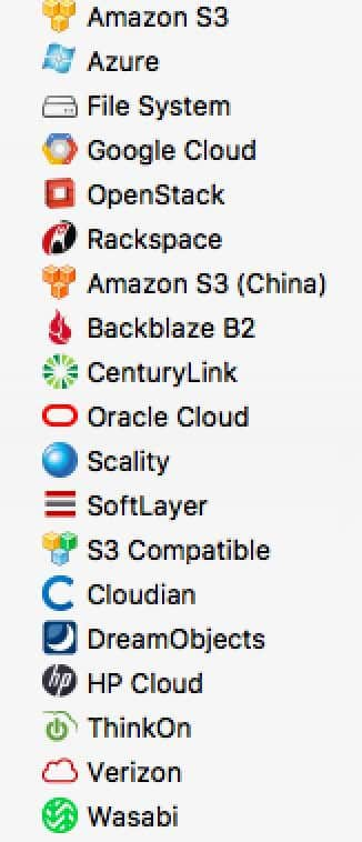 CloudBerry Backup 8