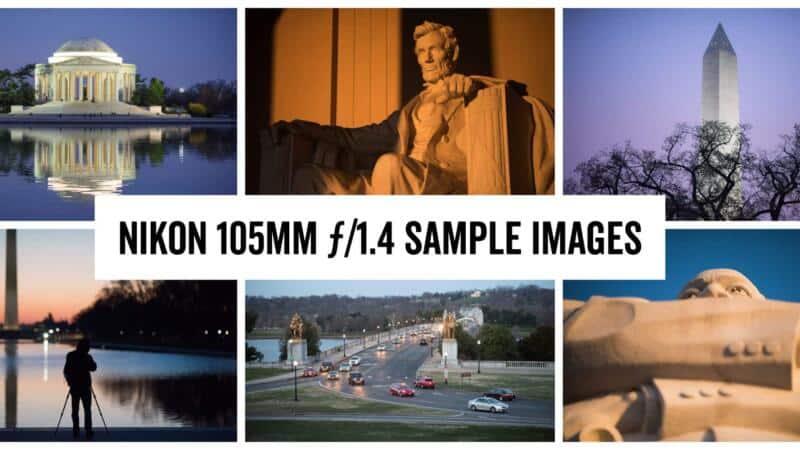 Nikon 105mm ƒ/1.4 Sample Images