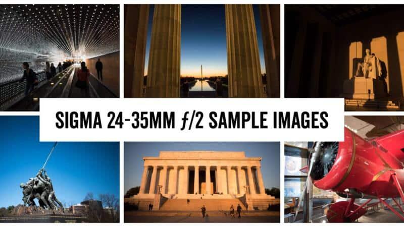 Sigma 24-35mm f/2 Sample Images