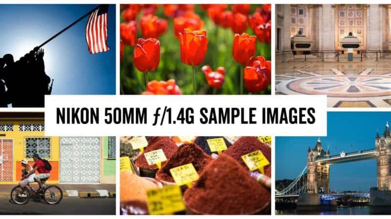 Nikon 50mm ƒ/1.4G Sample Images
