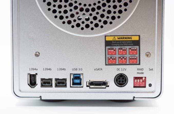 Xcellon DRD-401 Four-Bay SATA HDD RAID Enclosure