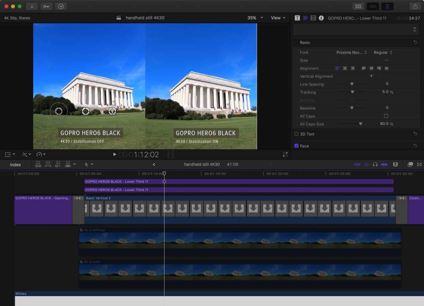 Final Cut Pro X Export Still Frame 1