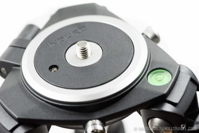 Induro Stealth Carbon Fiber Hi-Hats 75mm base