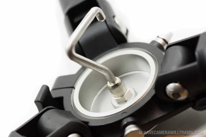 Induro Stealth Carbon Fiber Hi-Hats Bottom Hook