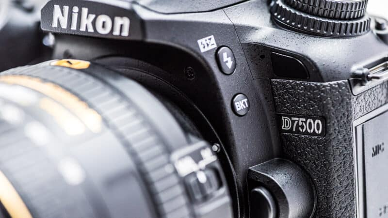 Nikon D7500 Product Shot