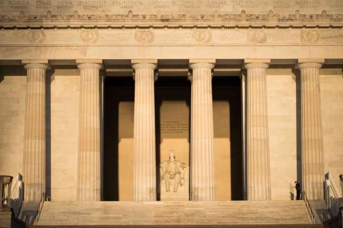 Lincoln Memorial - March 26, 2018