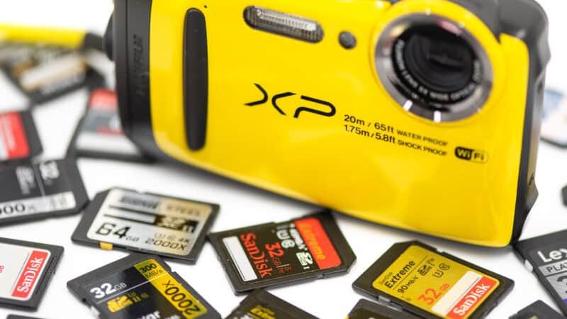 FujiFilm Finepixe XP130 XP120 Memory Cards