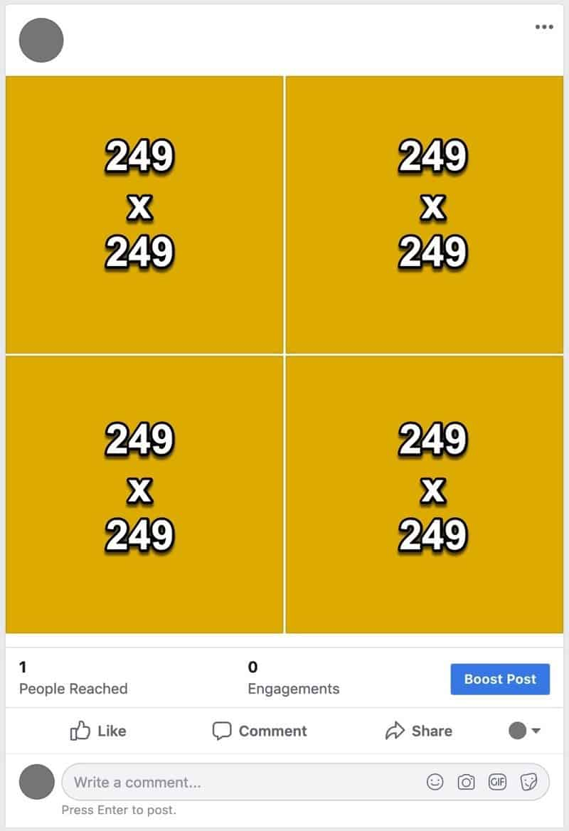 Facebook photos layout 15