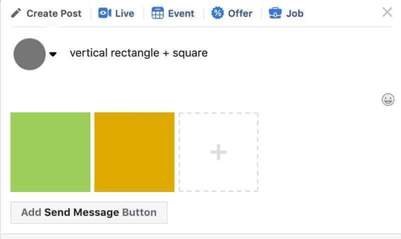 Facebook photos layout 3