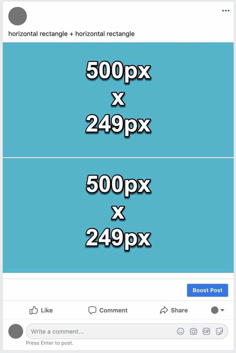Facebook photos layout 5
