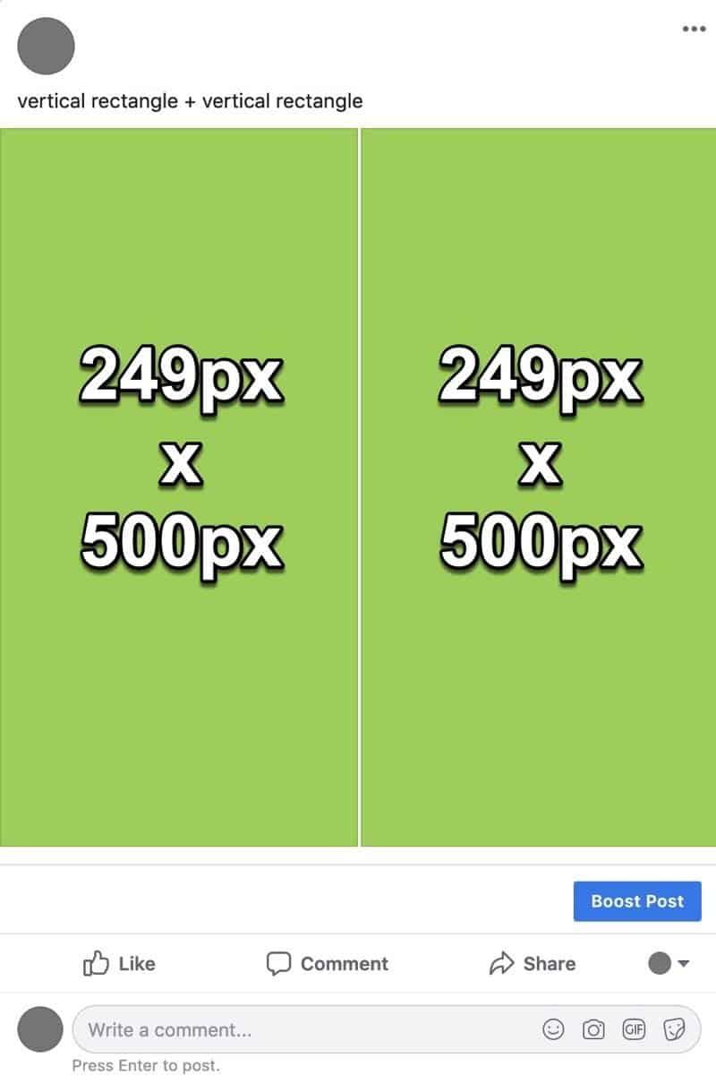 Facebook photos layout 6