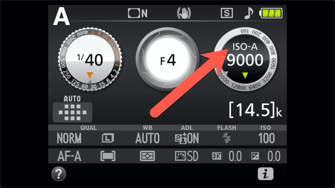Nikon D3400 ISO Settings 12