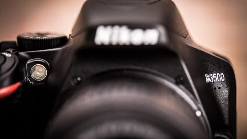 Nikon D3500 Front On