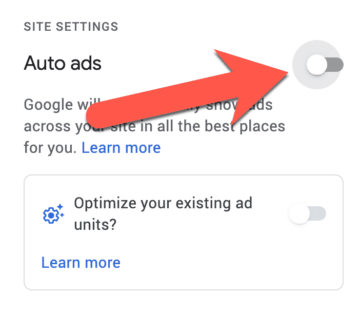 Disable Google Adsense Auto Ads Sitewide 3