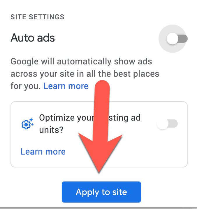 Disable Google Adsense Auto Ads Sitewide 4